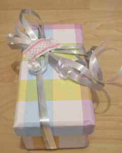 White Day wrapping